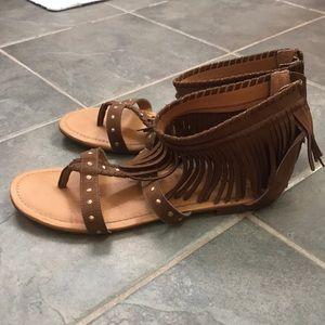 torrid Shoes - Fringe Sandals